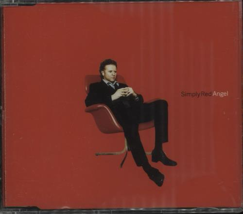 Simply Red Angel  Cd1 1996 UK CD single EW074CD1