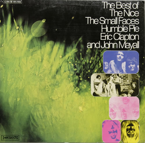 Image of Immediate Label The Best Of The Nice, The Small Faces, Humble Pie Etc 1970 German 2-LP vinyl set 1C148-92661/62