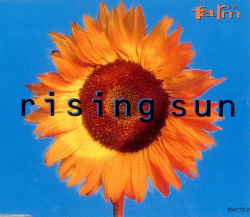 The Farm Rising Sun 1992 UK CD single 6581732