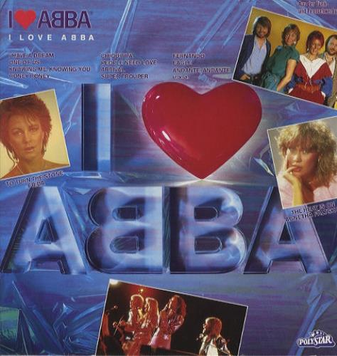 Abba I Love Abba 1983 German vinyl LP 8156011