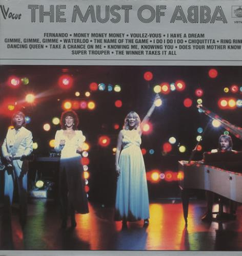 Abba The Must Of Abba 1982 French vinyl LP VBTV08