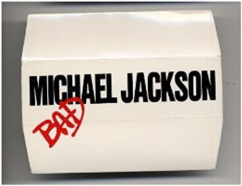 Michael Jackson Bad Binoculars 1988 UK memorabilia PROMO BINOCULARS