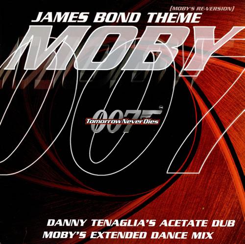 Moby James Bond Theme (Moby\'s Re-Version) 1997 UK 12\
