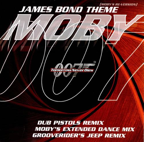 Moby James Bond Theme (Mobys ReVersion) 1997 UK 12 vinyl PXXL12MUTE210