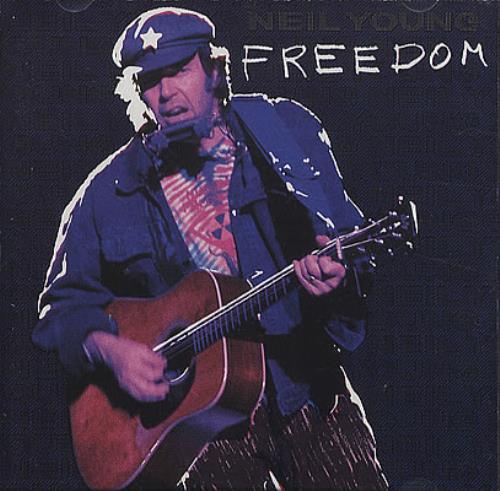 Neil Young Freedom  Picture CD 1989 USA CD album 9258992