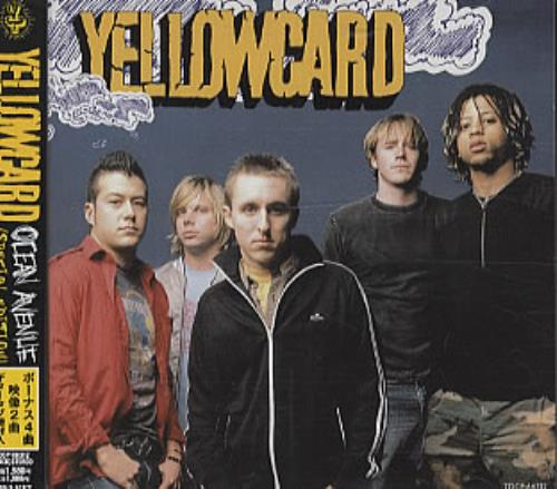 Yellowcard Ocean Avenue - Special Edition CD album (CDLP) Japanese YE1CDOC318125