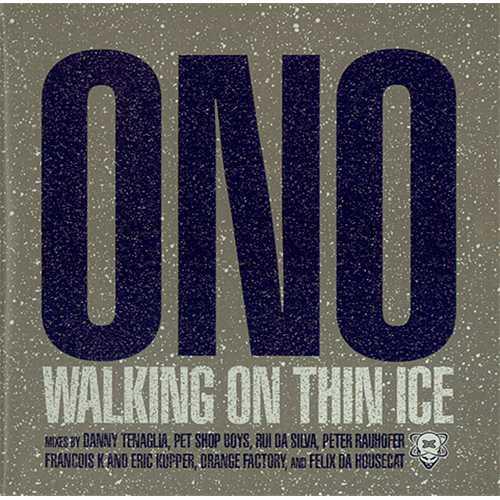 "Yoko Ono Walking On Thin Ice CD single (CD5 / 5"") US ONOC5WA243636"