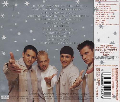 98 Degrees This Christmas Japanese Promo CD album (CDLP) (183736)