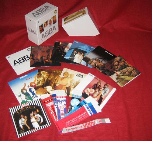 Resultado de imagen de ABBA 30th Anniversary Original Album Box