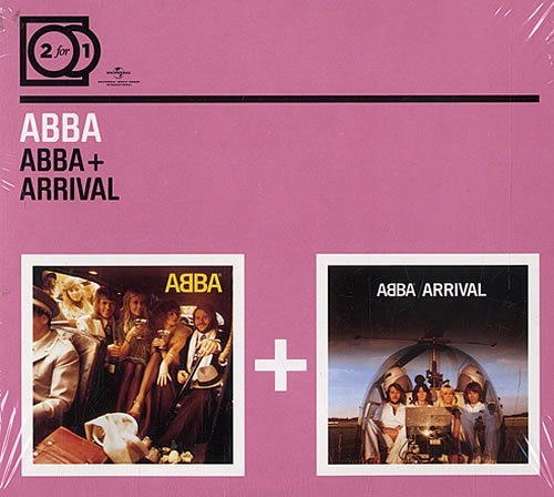 Abba Abba / Arrival 2 CD album set (Double CD) French ABB2CAB482179