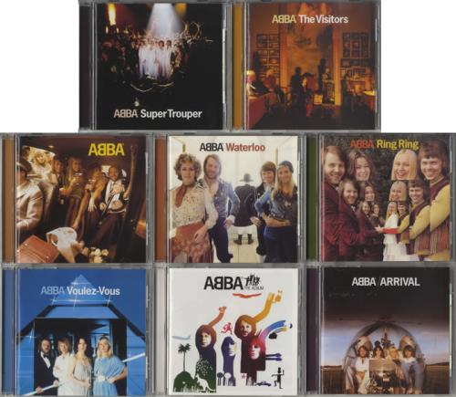 Abba Collection Of Japanese Studio Albums 2001 Issue