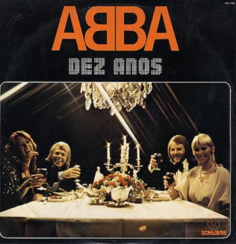 Resultado de imagen de ABBA Dez Anos LP