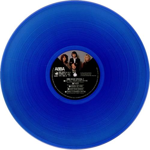 Abba Disco Special 2 Blue Vinyl Japanese Vinyl Lp Album