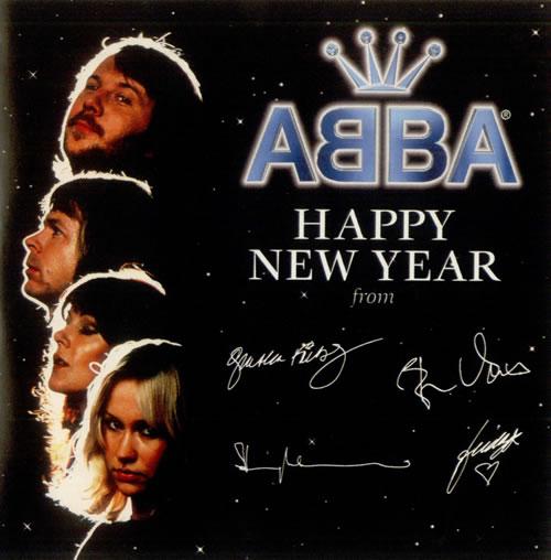 Abba happy new year cd single (cd5 / 5) european abbc5ha520740