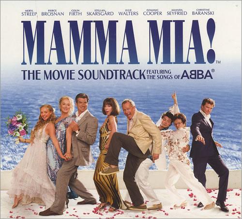 Abba Mamma Mia Sampler Uk Promo Cd Single Cd5 5