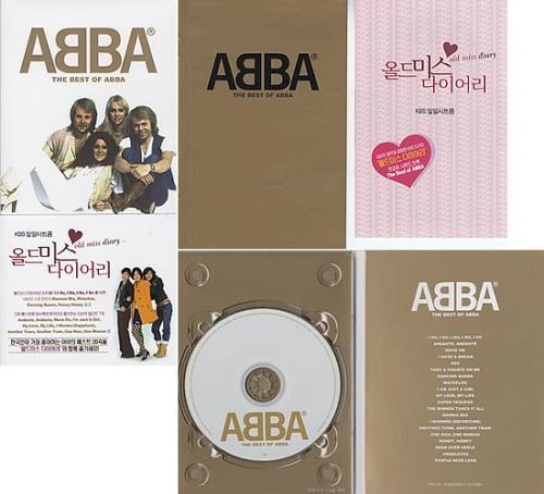 "Resultado de imagen de The Best Of ABBA"" korea"