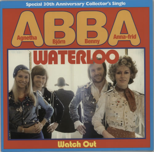 "Abba Waterloo 7"" vinyl single (7 inch record) UK ABB07WA284839"