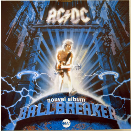 Ac Dc Ballbreaker Nouvel Album French Promo Display 616376