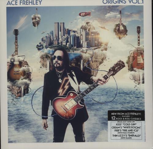 Ace Frehley Origins Vol 1 Cd Sealed German 2 Lp Vinyl