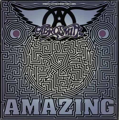 Aerosmith Amazing Purple Vinyl Uk 12 Quot Vinyl Single 12