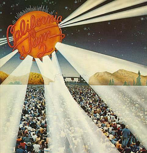 Aerosmith California Jam 2 Uk Promo 2 Lp Vinyl Record Set