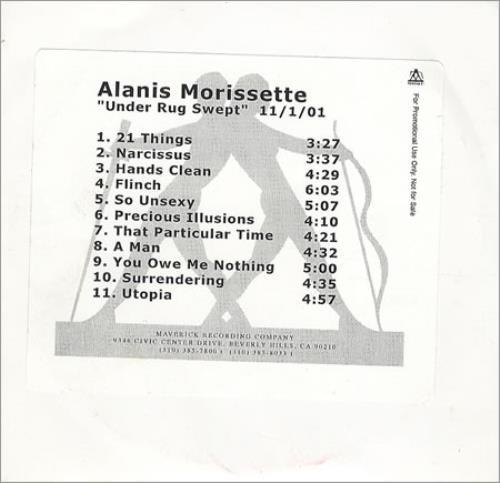 Alanis Morissette Under Rug Swept Home Decor