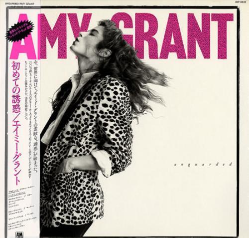Amy Grant Unguarded Japanese Vinyl Lp Album Lp Record