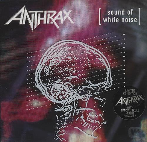 White Noise Book Cover : Anthrax sound of white noise uk cd album cdlp