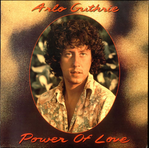 Arlo Guthrie Power Of Love German Vinyl Lp Album Lp
