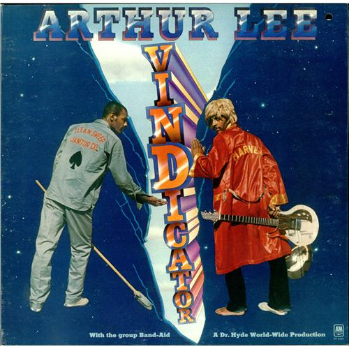 Arthur Lee Vindicator Us Promo Vinyl Lp Album Lp Record