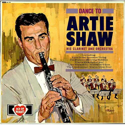 Artie Shaw Orchestra Tour