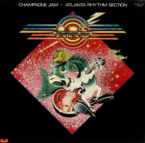 Atlanta Rhythm Section Champagne Jam Japanese Promo Vinyl