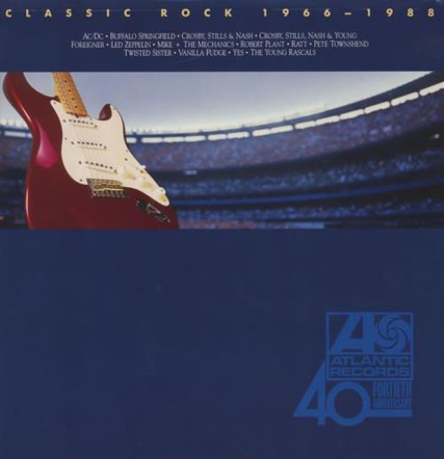Atlantic Records Classic Rock 1966 1988 German 2 Lp Vinyl