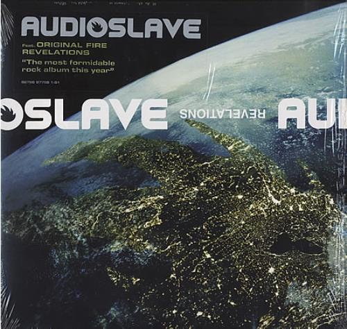 Audioslave Revelations Us Vinyl Lp Album Lp Record 389536