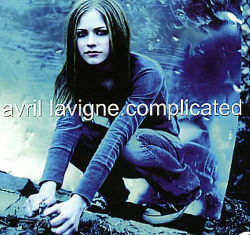 Avril Lavigne Complicated Brazilian Promo CD single (CD5 ... Avril Lavigne Complicated