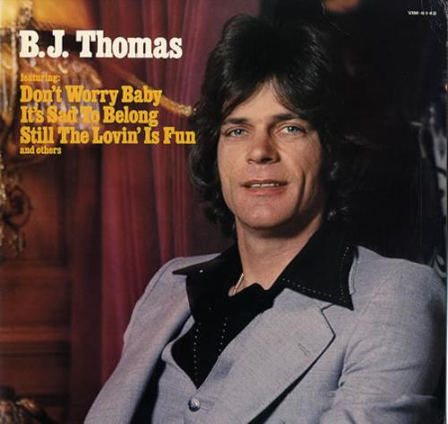 B J Thomas Don T Worry Baby Japanese Promo Vinyl Lp Album