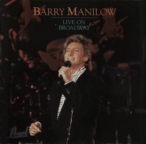 Barry Manilow Live On Broadway German 2-LP vinyl record ...