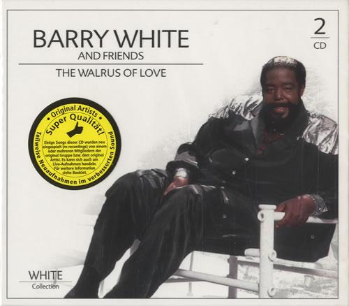 Barry White The Walrus Of Love Dutch 2 Cd Album Set