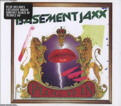 "Basement Jaxx Plug It In UK CD Single (CD5 / 5"") (601509"