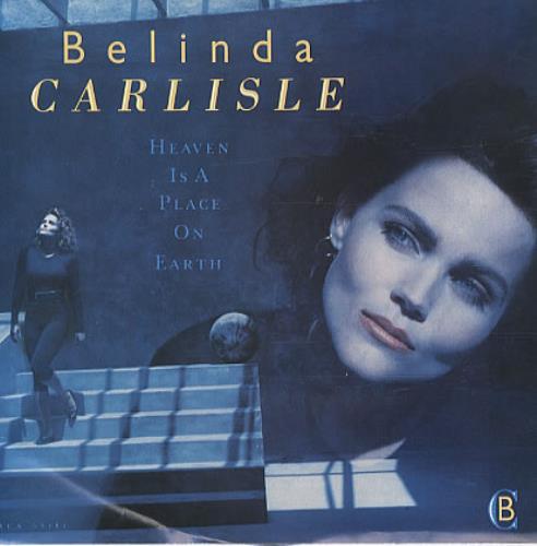 Belinda Carlisle Heaven Is A Place On Earth Us 7 Quot Vinyl
