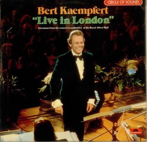 Bert Kaempfert Live In London Uk Vinyl Lp Album Lp Record