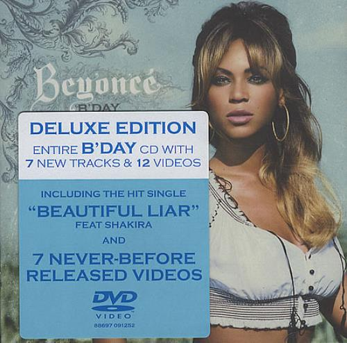 Beyoncé Deluxe Beyoncé: Deluxe Edition UK 2-disc CD/DVD
