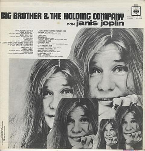 Big Brother Amp The Holding Co Big Brother Amp The Holding