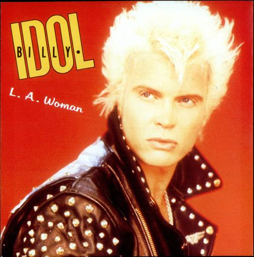 Billy Idol L A Woman Uk 7 Quot Vinyl Single 7 Inch Record