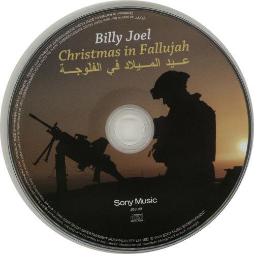 Billy Joel Christmas In Fallujah Australian CD single (CD5 / 5 ...