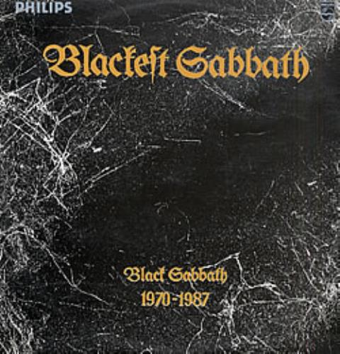Black Sabbath Blackest Sabbath 1970 1987 Colombian 2 Lp