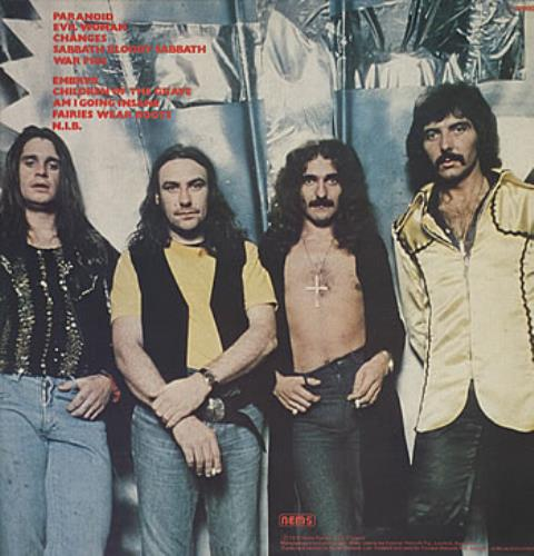 Black Sabbath The Best Of Black Sabbath Australian Vinyl