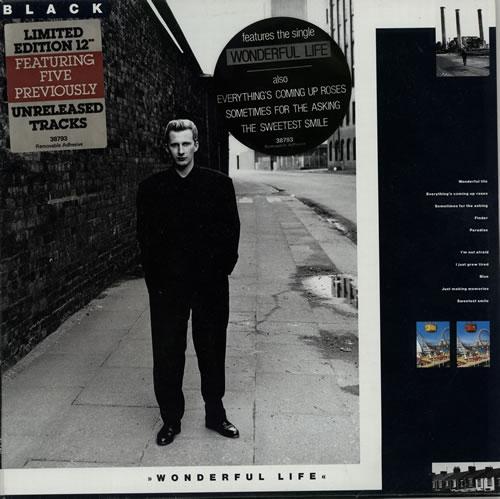 Black Wonderful Life 12 Quot Australian 2 Lp Vinyl Record