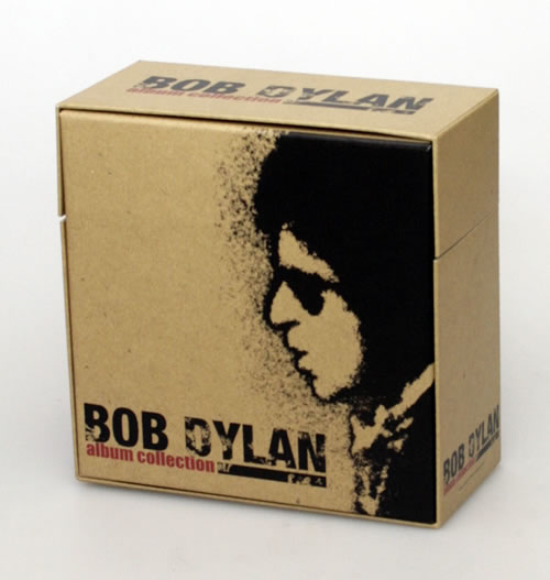 bob dylan complete paper sleeve collection album collection box japanese promo cd album box. Black Bedroom Furniture Sets. Home Design Ideas