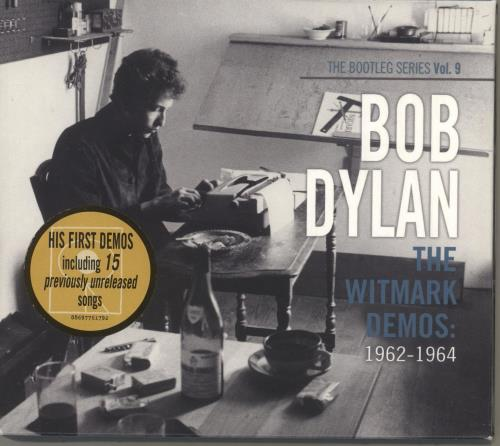bob dylan the bootleg series no 9 the witmark demos 1962 1964 uk 2 cd album set double cd. Black Bedroom Furniture Sets. Home Design Ideas